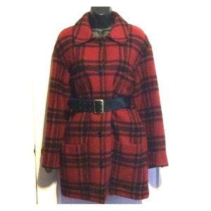 DKNY Jackets & Coats - Vintage DKNY Wool Plaid Jacket